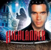 Highlander 1.01 audio books, adrian paul