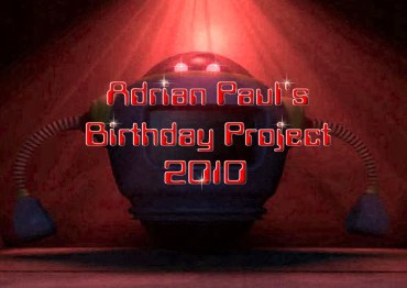 Adrian Paul Birthday Project 2010