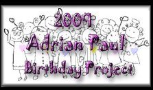 Adrian Paul Birthday project 2009