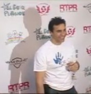 Adrian Paul at the Lollipops and Rainbows Launch Party May 2 2009 video from Maximo TV